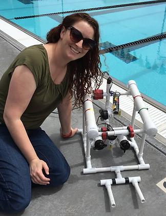 First underwater robot