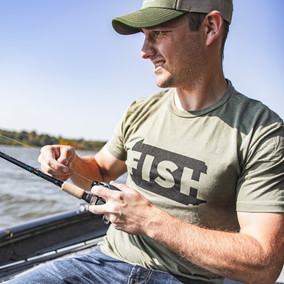 Pittsburgh Fishing Company T Shirt and Hat