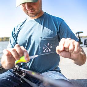 Columbus Fishing Company Pocket Tee