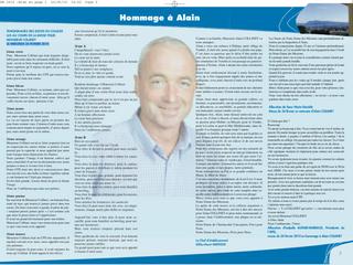 Hommage à Alain Collinet