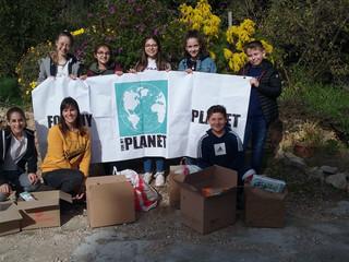 Poursuite de la collecte de produits d'hygiène organisée par l'association For My Planet