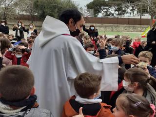 Célébration des cendres à Notre Dame des Missions