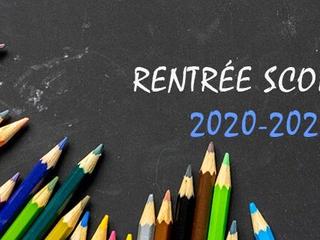 Circulaire de rentrée 2020-2021