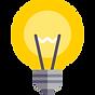 """Ícone representativo de uma Lâmpada e que dá acesso à página """"Visão e Missão"""", onde pode aceder a informações alusivas à visão e missão da empresa Irmãos Lopes & Cardoso, Lda."""