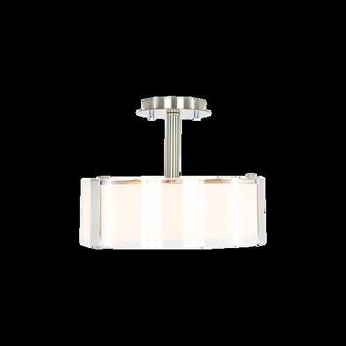 Capri 3-Light Semi Flush