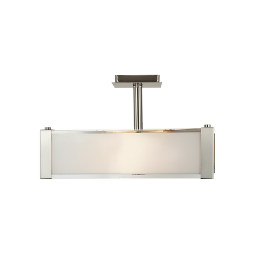 Verona 3-Light Semi Flush