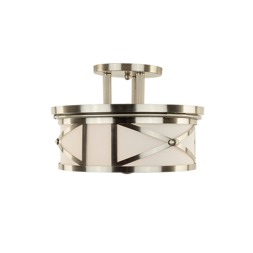 Hampton 2-Light Semi Flush