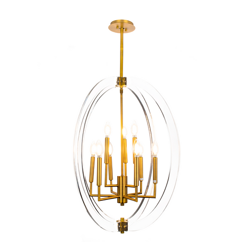 Visat 9-Light Chandelier