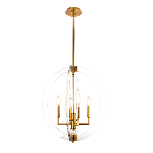 Visat 6-Light Chandelier