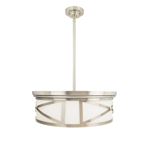 Hampton 3-Light Semi Flush