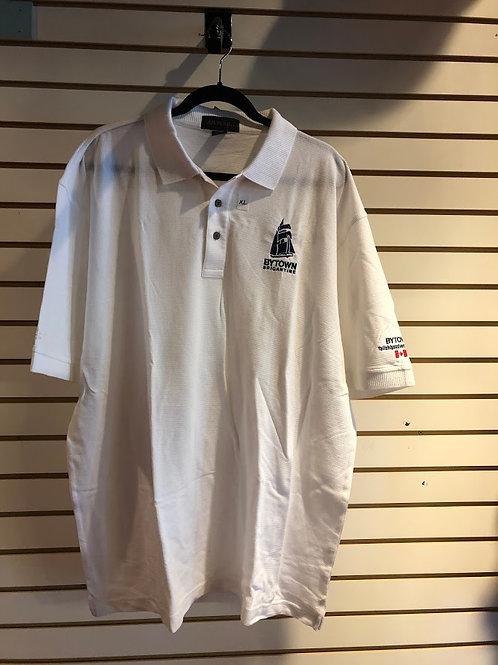 White Bytown Brigantine Collared Shirt