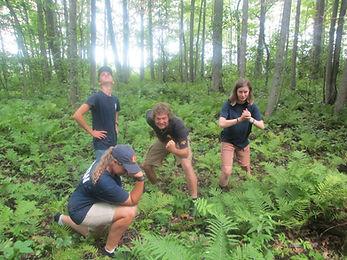 Exploring! Summer camp.