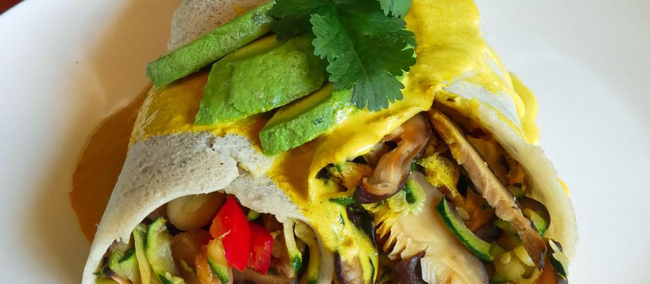 Anti-Inflammatory Buckwheat Crepes