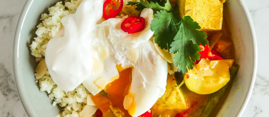 Creamy Low Carb Yellow Curry