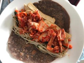 Vegan Kimchi Tortilla