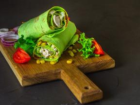 Spinach Burrito