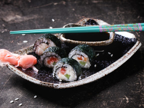 Mixed Veggie Sushi Rolls