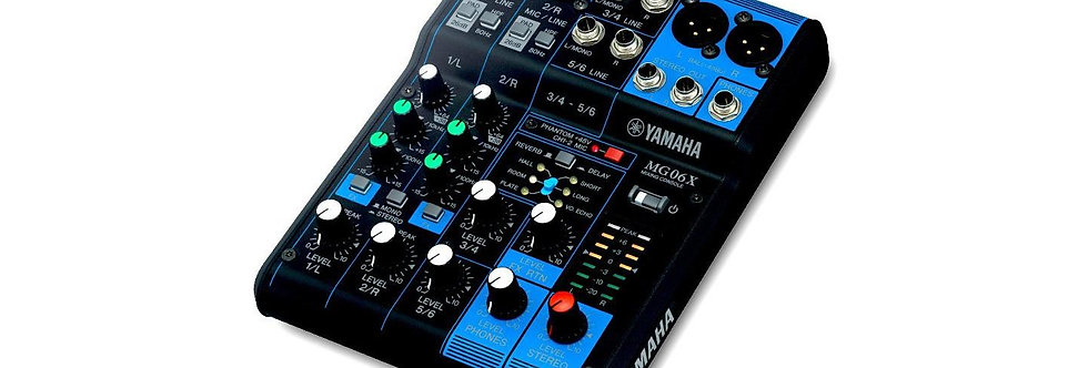 Yamaha MG06X Analog mikser m/SPX