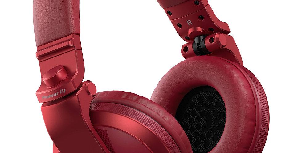 Pioneer DJ HDJ-X5BT-R hodetelefon, rød