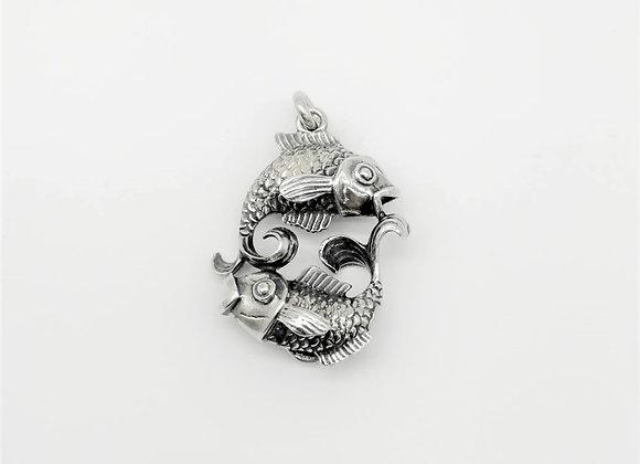 Silver Piscies Pendant