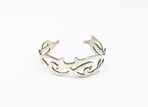 Silver Pierced Bangle