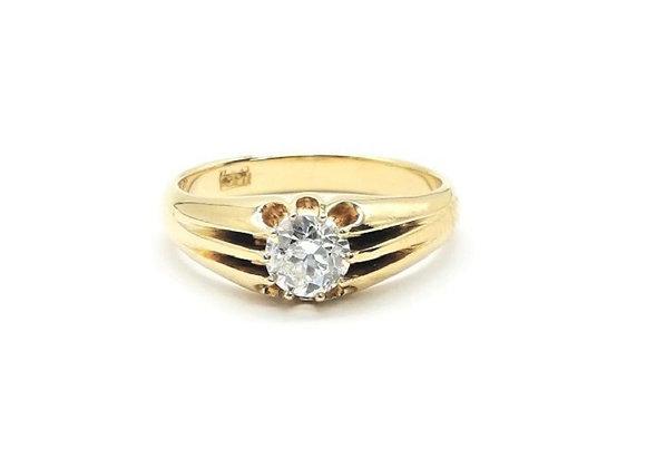 Victorian Single Diamond Ring