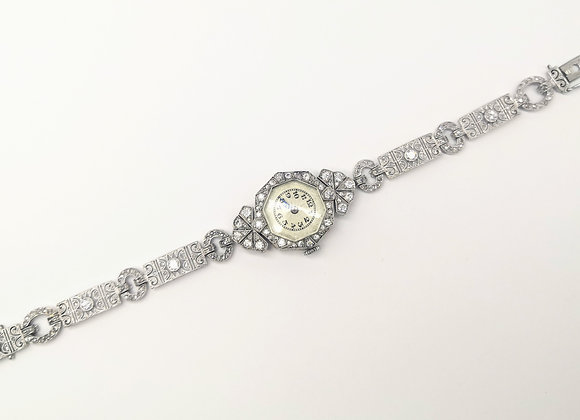 Diamond Set Lady's Evening Watch