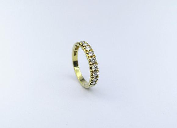 18ct  9 Stone Diamond Eternity Ring