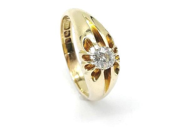 Victorian 18ct Diamond Ring
