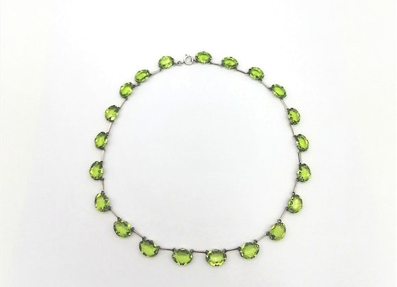 Silver Riviere Necklace