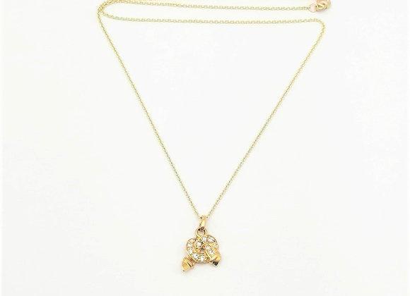 Diamond Love Knot Pendant