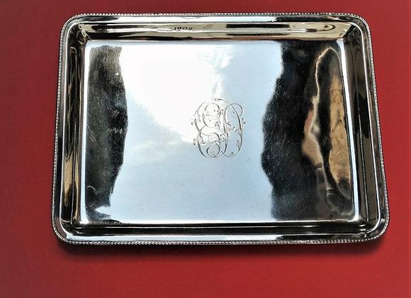 Edwardian Silver Tray