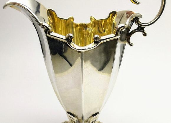 Victorian Silver Cream Jug  J Round & Son