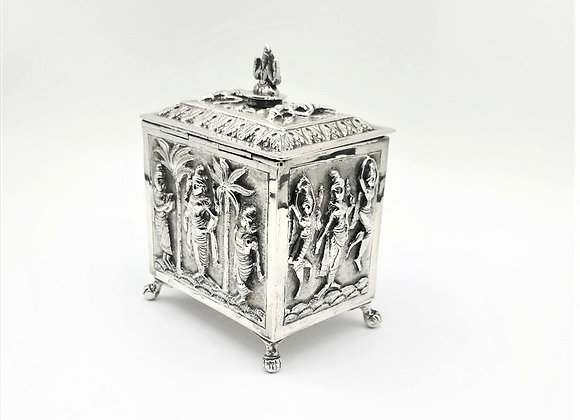 Anglo-Indian Tea Caddy