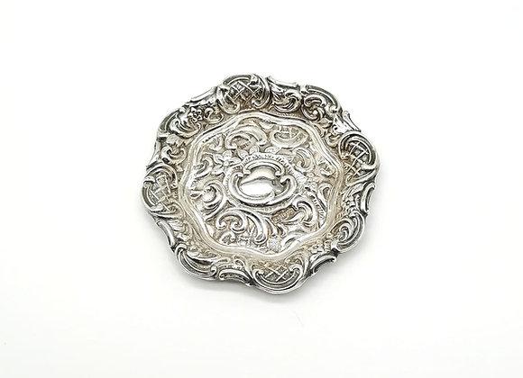 Victorian Silver Dish