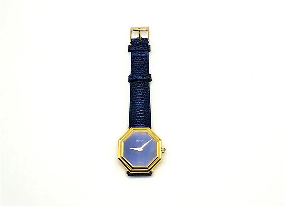 18ct Lapis Watch by De Laneau