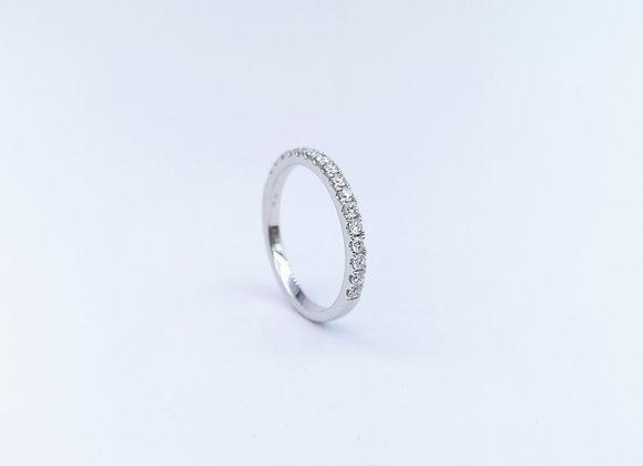 18ct Diamond Set  Slim Eternity Ring