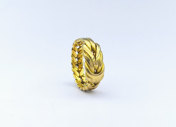 18ct Woven Knot Ring