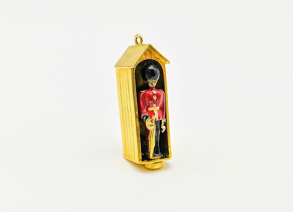 9ct Queen's Guard Charm