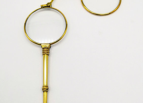 Victorian Silver Gilt Lorgnettes