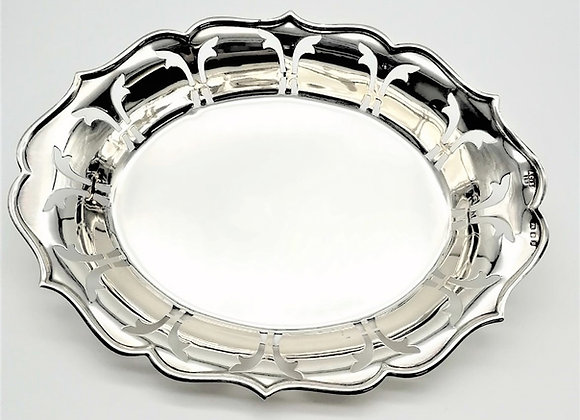 Silver Dish by A Chick & Sons