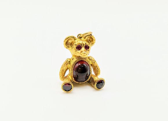 9ct Teddy Charm