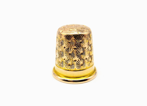 Charles Horner Gold Thimble