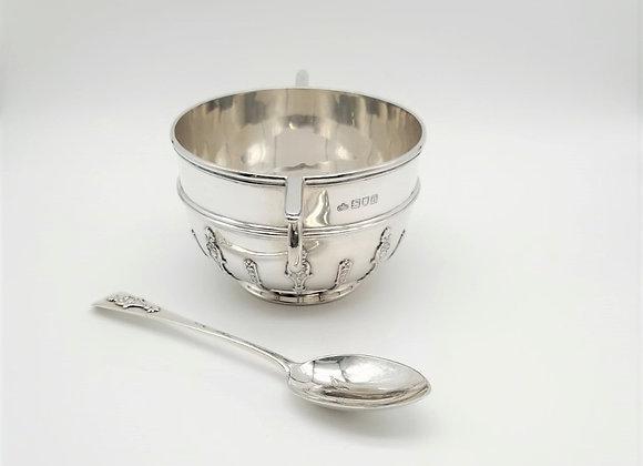 Edwardian Silver Porringer