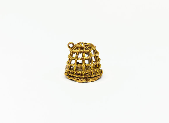 9ct Charm of a Lobster Pot