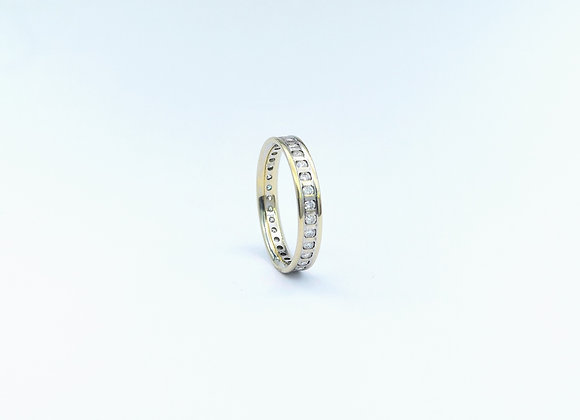 18ct Diamond Channel Set Eternity Ring