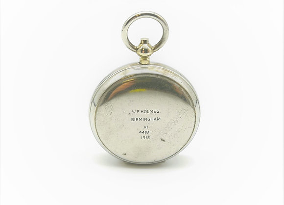 Silver Pocket Compass
