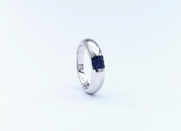 18ct Sapphire 6 Stone Ring