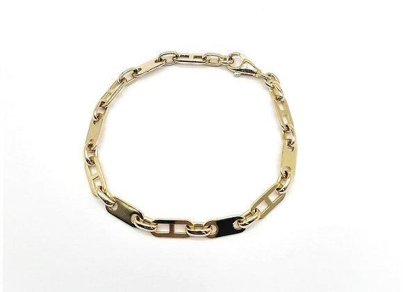 18ct Oval Link Bracelet