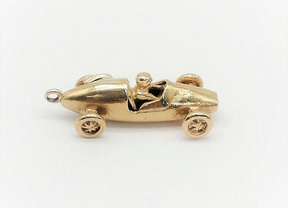 9ct Cooper Car Pendant
